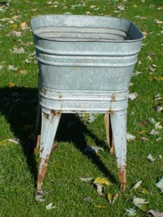 antique galvanized wash tub Galvanized Tubs & Containers So many uses lighting, storage, water  antique galvanized wash tub