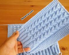 BEBEK YELEĞİ ÖRGÜ GÖNÜL YAKAN MODELLİ | Nazarca.com Baby Knitting Patterns, Baby Sweater Knitting Pattern, Knitted Baby Cardigan, Knitted Baby Clothes, Knitting Stitches, Hand Knitting, Stitch Patterns, Crochet Patterns, Baby Overall
