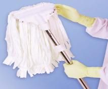 Clean room mops are manufactured with lint free materials so that ...