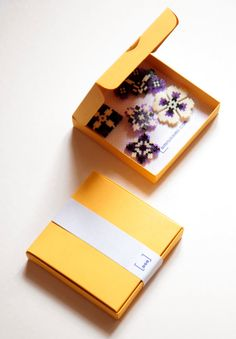 Purple Cream Black Magnets handmade thousand of by Leminussieu