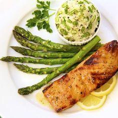 Irish Roasted Salmon - thecafesucrefarine.com