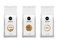 Packaging inspiration, coffee, bags