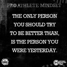 Inspirational Quote for a Pro Athlete Mindset | Hyper Martial | http://awesomeinspirationquotes.blogspot.com