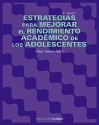Imagen de portada del libro Estrategias para mejorar el rendimiento académico de…