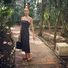 Kate Bosworth Just Found Your Perfect Vacation Dress via @WhoWhatWear