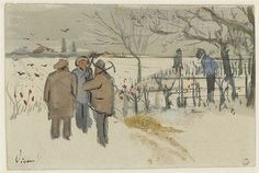 Miners in the snow winter - October 1882 (271) by peacay, via Flickr