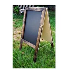 Rustic A-Frame Sandw