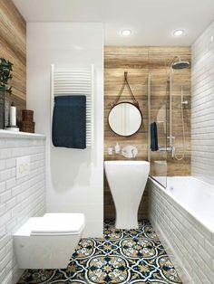 Most Attractive Eclectic Bathroom Decoration Ideas To Steal - Badezimmer - Bathroom Decor Trendy Bathroom, Modern Bathroom Design, Bathroom Makeover, Eclectic Bathroom, Bathroom Layout, Bathroom Interior, Bathroom Renovations, Bathroom Flooring, Bathroom Decor