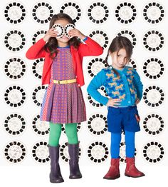 Dit zijn voorbeelden uit de collectie:Fred & Ginger - Winter 2012