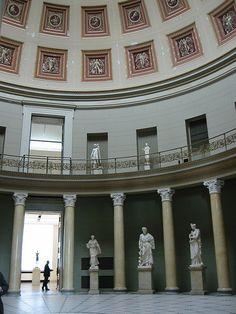 ღღ Chapter 3- Interior Design. Altes Museum in Berlin, Germany designed by Karl Schinkel.