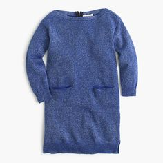 J.Crew - Girls' sparkle sweater dress