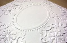 Double Texture Embossing Tutorial.  Wonderful!!  (Mar'12)