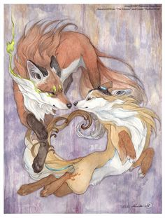 wolfdancer: Spirit Foxes