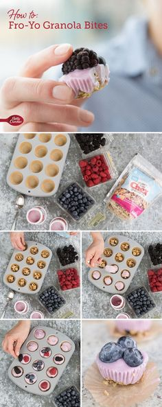 33 Easy Recipes for Back To School - Fro Yo Granola Bites -Quick and Delicious Recipe Ideas for Kids and Adults. Pack for School Lunches, Make Ahead for Work, Freeze and Store for Early Morning Breakfasts, Super Lunch Meals, Simple Snacks and Dinner Make Ahead Breakfast, Breakfast Recipes, Snack Recipes, Cooking Recipes, Easy Recipes, Jello Recipes, Whole30 Recipes, Vegetarian Recipes, Breakfast Ideas