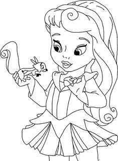 princesas para colorear juegos de pintar princesas lineart