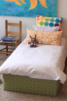 Two Toddler Beds for $75 | 14 DIY Platform Beds to Upgrade Your Bedroom