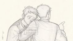 Cas and Dean by CaptBexx.deviantart.com on @DeviantArt