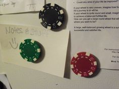 Poker Chip Magnets