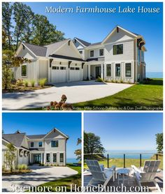 Florida Beach House with New Coastal Design Ideas Door Paint Colors, Grey Paint Colors, Gray Paint, Grey Kitchens, Modern Farmhouse Kitchens, Grey Cabinets, Visual Comfort, Architecture Details, House Tours