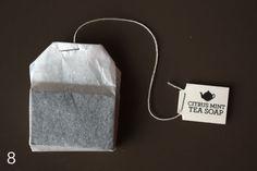 Handmade Tea Soap {Recipe} via TipJunkie.com