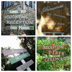 Crea'Woods - Décoration Vintage - Var - Toulon (PACA) - Panneaux signalétiques & directionnels sur mesure par { Crea'Woods }