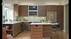 Kitchen - Wavelike glass tile