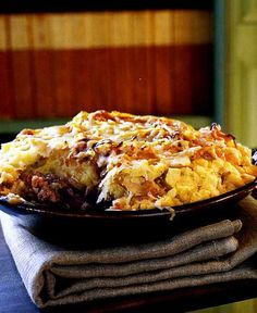 Shepherd's Pie Recipe- Our favourite! Use ground beef instead of lamb. Cut down on the cheese and use fewer onions if they are expensive in your area!  -MB