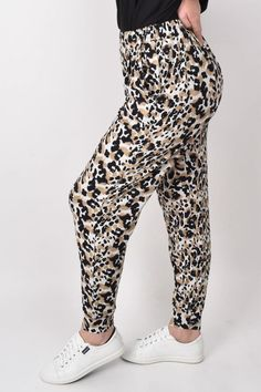Everyday Pant in Jungle leopard – PQ Collection