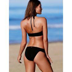 PINK Ruched Side Bikini Bottom ($23) ❤ liked on Polyvore featuring swimwear, bikinis, bikini bottoms, print, pink bikini, scrunch bottom bikini, low rise bikini, low rise bikini bottoms and ruched bikini