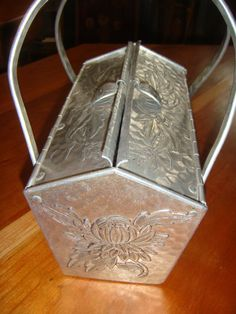 Rare Hammered Aluminum Purse by AspenMountainVintage on Etsy, $325.00