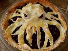 Kraken pie! #Inspiration