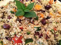 Grilled Vegetable & Couscous Salad is a delicious summer veggie side dish.  It can be gluten-free if you use quinoa
