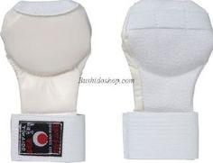 Mitaine Karate Tokaido blanc JKA Taille L