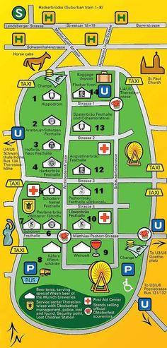 Oktoberfest Munich - Beer Tents.  Excellent description of individual tents with type of beer, flavor, etc.