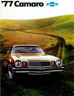Car Brochures - 1977 Camaro Brochure - Canada / 1977 Camaro page 1.JPG