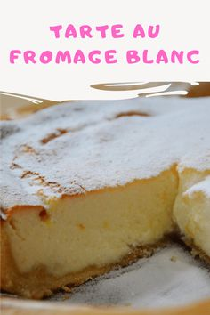 Cheesecakes, Ricotta, French Food, Yogurt, Bakery, Deserts, Good Food, Dessert Recipes, Food And Drink