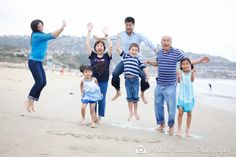 Beach Family Portrait Session #miramarpark #familyportraits #andreatakeokaphotography