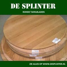 MAssief eiken ronde bladen    www.desplinter.nl  www.houtenpanelen.nl