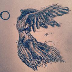Black swan by K. Drayton