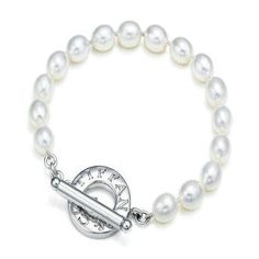 tiffANY PEARLS | Tiffany & Co Freshwater Pearls Toggle Bracelet - $58.00 : replica ...