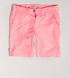 Even AE is jumping on the neon short band wagon! CHubbies were first! AE Prep Fit Short