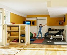 A Home Gym Nook