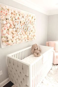 Guess Which Celebrity Nursery Inspired this Gorgeous Space – Project Nursery Baby room – Home Decoration Baby Room Design, Nursery Design, Baby Room Decor, Baby Room Diy, Unisex Baby Room, Baby Room Wall Art, Baby Room Themes, Celebrity Nurseries, Project Nursery