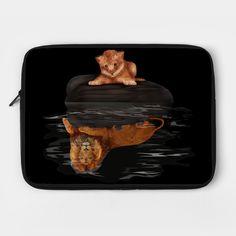 Cute Little Baby Simba lion  Laptop Case #laptopcase #laptop #case #cover #teepublic #thelion #cat #kitten #animals #kitty #kittens #lion #lionking #younglion #animals #bigkittens
