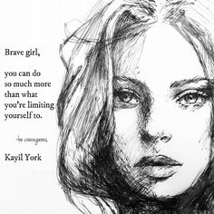 """3,931 Likes, 29 Comments - Kayil York (@rose_thorns1921) on Instagram: """"Be Brave, Be Courageous Photo Art: Janesico / Pinterest #writer #writing #poetry #poet #poem…"""""""
