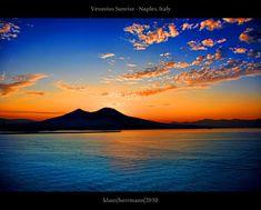 Vesuvius Sunrise - Naples  by farbspiel photography  Klaus Herrmann