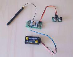 Mesurer le niveau d'une cuve d'eau à l'aide d'un ESP8266 et d'un capteur ultrason