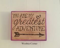 You Are My Greatest Adventure sign, Disney quote sign, You are our greatest adventure, rustic home decor, Disney wood sign, Disney up quote