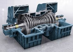 Steam Turbine, Energy Services, Combustion Engine, Oil And Gas, Engineering, Steamers, Cutaway, Geo, Planes