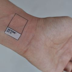 flesh pantone tattoo